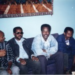 Dawit Isaak with colleagues, 1995.